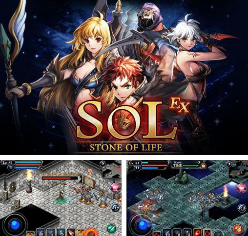 In addition to the game Aurum blade ex for Android phones and tablets, you can also download SOL: Stone of life EX for free.