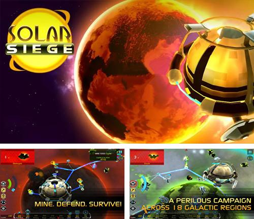In addition to the game Egg x egg for Android phones and tablets, you can also download Solar siege for free.