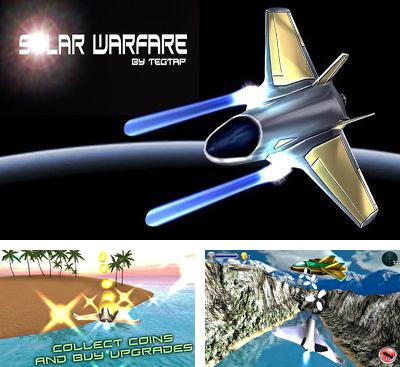 In addition to the game Cowboy vs. Ninjas vs. Aliens for Android phones and tablets, you can also download Solar Warfare for free.