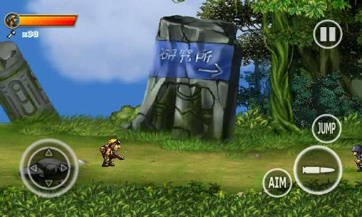 Screenshots von Soldiers Rambo 2: Forest war für Android-Tablet, Smartphone.