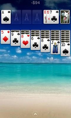 Screenshots von Solitaire+ für Android-Tablet, Smartphone.