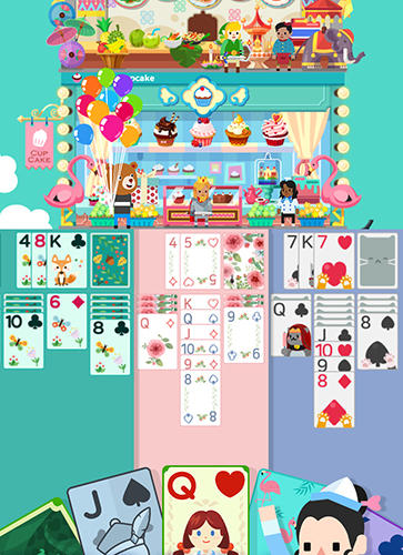 Solitaire: Cooking tower screenshot 1