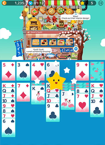 Solitaire: Cooking tower screenshot 3