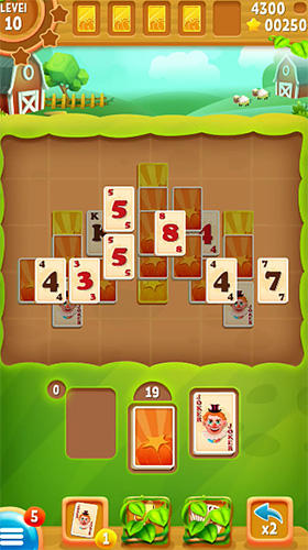 Jogue Solitaire farm para Android. Jogo Solitaire farm para download gratuito.