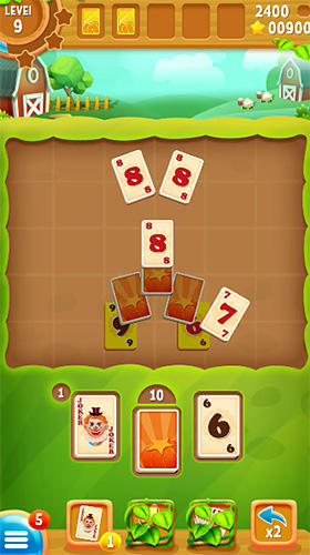 Screenshots do Solitaire farm - Perigoso para tablet e celular Android.