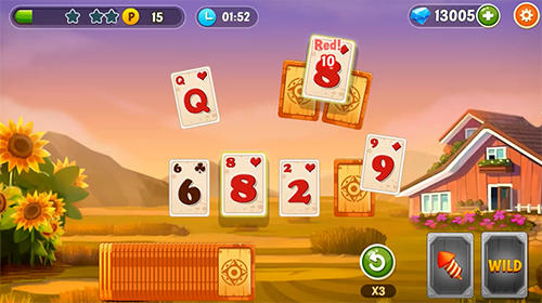 Screenshots von Solitaire idle farm für Android-Tablet, Smartphone.