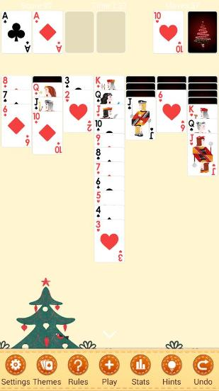 Screenshots von Solitaire: Klondike für Android-Tablet, Smartphone.