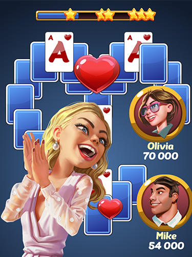 Screenshots von Solitaire: Lucky star für Android-Tablet, Smartphone.