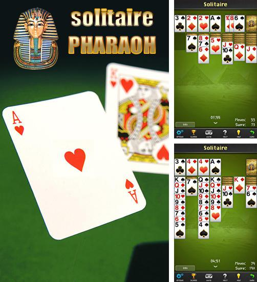 In addition to the game Solitaire Double-Deck HD for Android phones and tablets, you can also download Solitaire: Pharaoh for free.