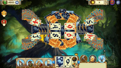 Screenshots von Solitaire tales live für Android-Tablet, Smartphone.