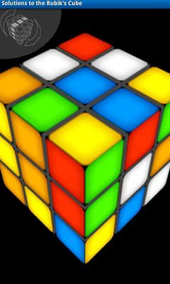 Solutions to the Rubik's Cube screenshot 3