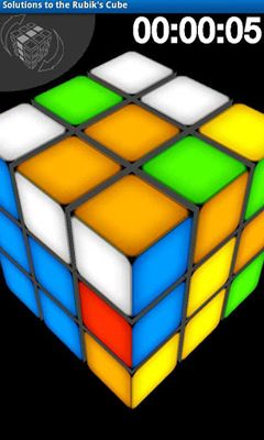 Solutions to the Rubik's Cube screenshot 4