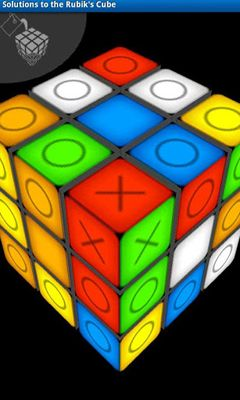Solutions to the Rubik's Cube screenshot 5