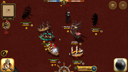 Kostenloses Android-Game Son Korsan: Piraten MMO. Vollversion der Android-apk-App Hirschjäger: Die Son korsan pirate MMO für Tablets und Telefone.