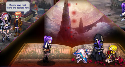 Screenshots von Song of the world: A beautiful yet dark fairy tale für Android-Tablet, Smartphone.
