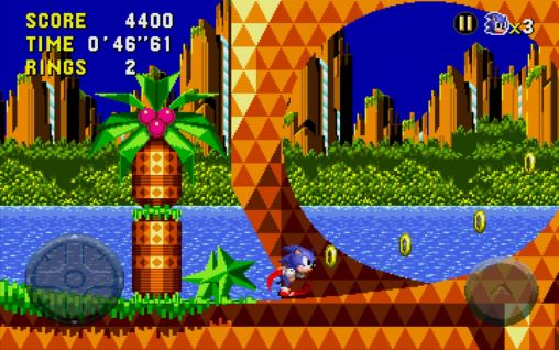 Sonic CD screenshot 1