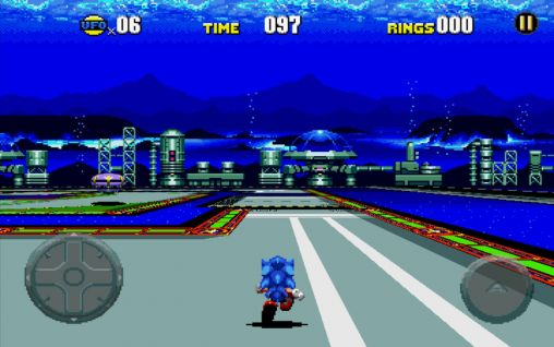 Screenshots von Sonic CD für Android-Tablet, Smartphone.