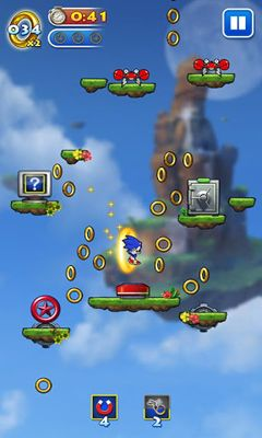 Sonic Jump screenshot 4