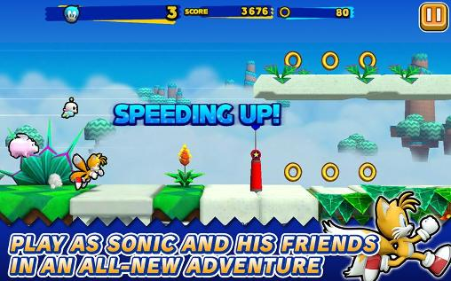 Jogue Sonic: Runners para Android. Jogo Sonic: Runners para download gratuito.