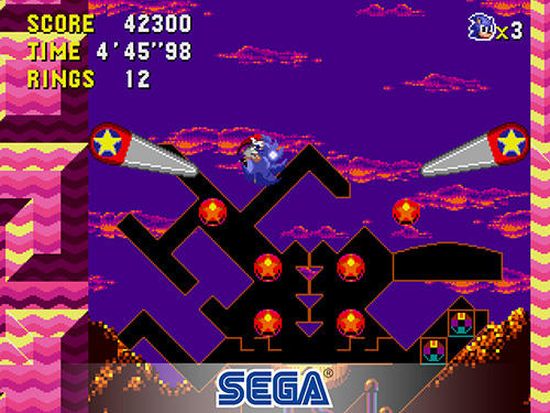 Jogue Sonic the hedgehog: CD classic para Android. Jogo Sonic the hedgehog: CD classic para download gratuito.