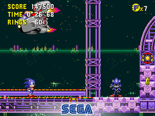 Screenshots do Sonic the hedgehog: CD classic - Perigoso para tablet e celular Android.