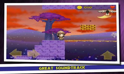 Capturas de pantalla de Sophia's World Jump And Run para tabletas y teléfonos Android.
