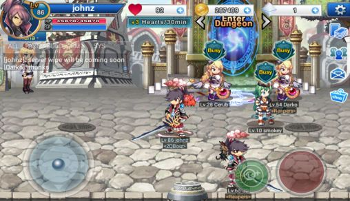Screenshots von Soul guardians: Age of Midgard für Android-Tablet, Smartphone.