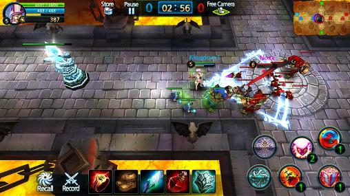 Screenshots von Soul of legends für Android-Tablet, Smartphone.