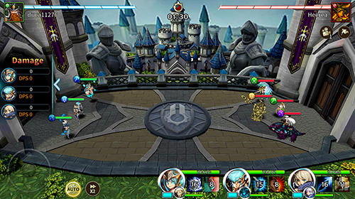 Soul seeker: Six knights. Strategy action RPG screenshot 2