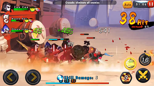 Screenshots von Soul warriors für Android-Tablet, Smartphone.