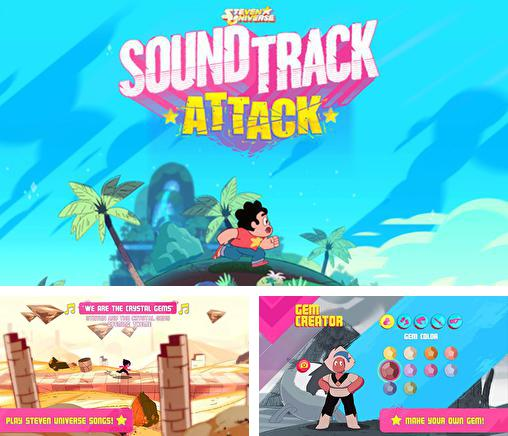 In addition to the game Rock bandits: Adventure time for Android phones and tablets, you can also download Soundtrack attack: Steven universe for free.