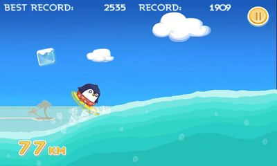 Screenshots of the South Surfer for Android tablet, phone.