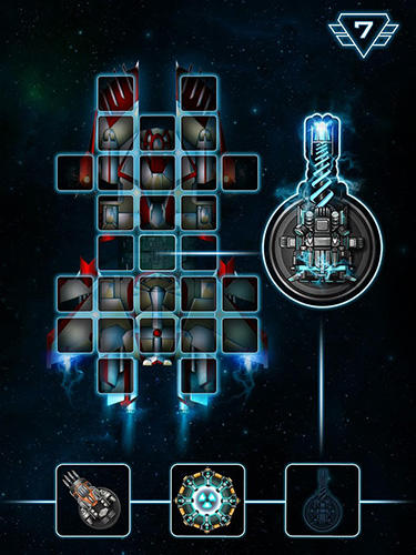 Screenshots von Space arena: Build and fight für Android-Tablet, Smartphone.
