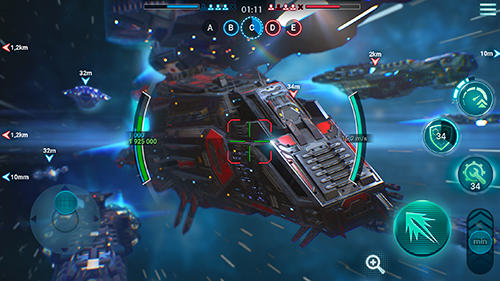 Space armada: Galaxy wars screenshot 1