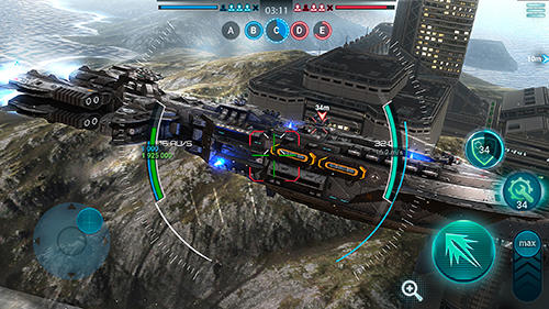Space armada: Galaxy wars screenshot 2