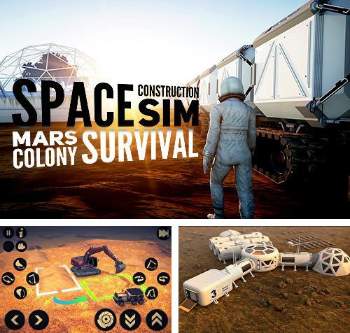 Space construction simulator: Mars colony survival