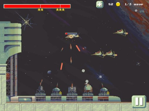 Space defense TD screenshot 1