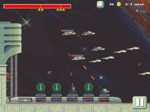Space defense TD screenshot 2