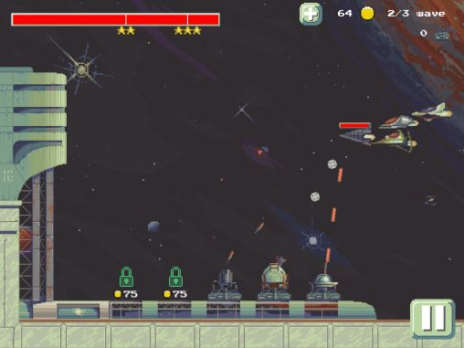 Space defense TD screenshot 5