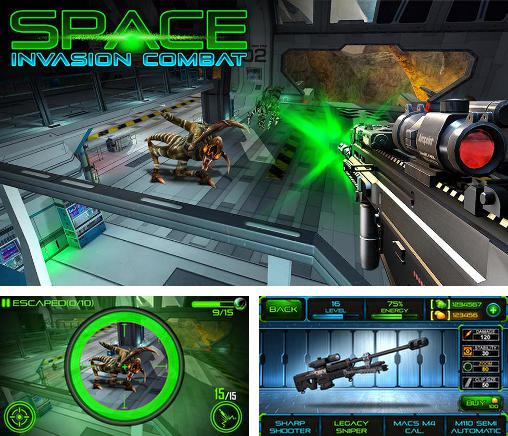 In addition to the game Alien Invade for Android phones and tablets, you can also download Space invasion combat for free.