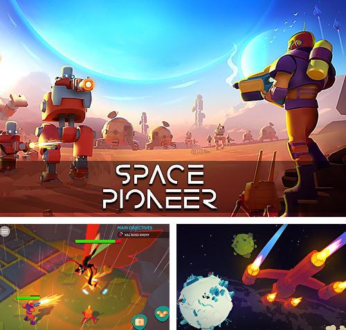 Alem do jogo Fogo alto: Jogo de tiro grátis online para telefones e tablets Android, voce tambem pode baixar Pioneiro do espaço: Dispare, construa e domine a galáxia, Space pioneer: Shoot, build and rule the galaxy gratuitamente.