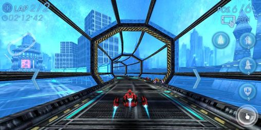 Screenshots von Space racing 3D für Android-Tablet, Smartphone.