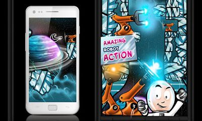 Screenshots von Space Robots für Android-Tablet, Smartphone.