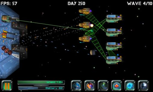Space station defender 3D screenshot 4