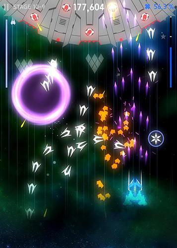 Screenshots von Space wingmen : Stylish arcade shooting für Android-Tablet, Smartphone.
