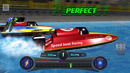 Capturas de pantalla de Speed boat racing: Racing games para tabletas y teléfonos Android.