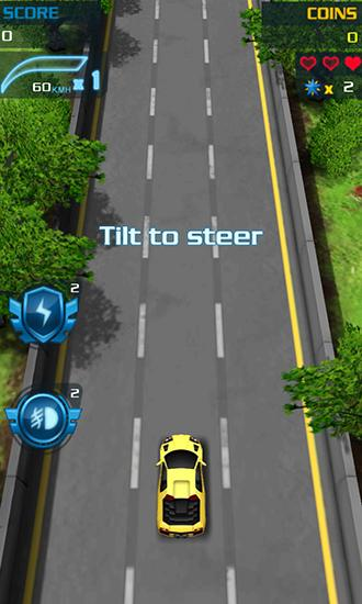 Kostenloses Android-Game Speed Car: Echtes Rennen. Vollversion der Android-apk-App Hirschjäger: Die Speed car: Real racing für Tablets und Telefone.
