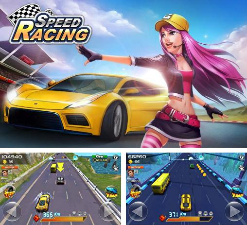In addition to the game Canimals KeyboDrums for Android phones and tablets, you can also download Speed racing for free.