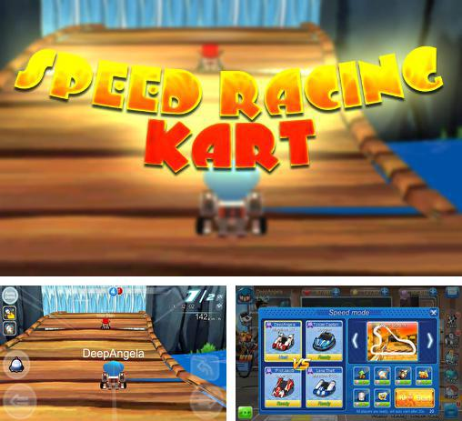 In addition to the game Mole Kart for Android phones and tablets, you can also download Speed racing: Kart for free.