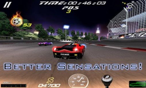 Screenshots von Speed racing ultimate 2 für Android-Tablet, Smartphone.